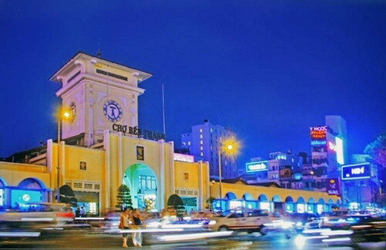 【建築- 在越南的美麗法國烙印系列】濱城市場
