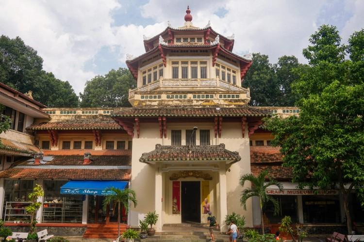 【建築- 在越南的美麗法國烙印系列】越南歷史博物館 (胡志明市)