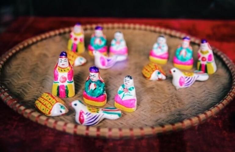 傳承和維護傳統土偶製作業
