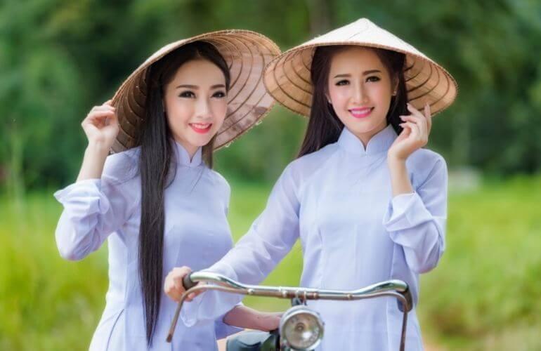 【越南美女】西南部是美女的盛產地